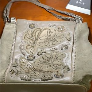 Gorgeous leather and suede Brighton purse